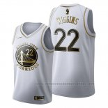 Camiseta Golden Edition Golden State Warriors Andrew Wiggins #22 2019-20 Blanco