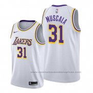 Camiseta Los Angeles Lakers Mike Muscala #31 Association Blanco