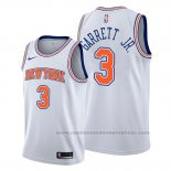 Camiseta New York Knicks Billy Garrett Jr. #3 Statement Blanco