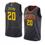 Camiseta Atlanta Hawks John Collins #20 Icon 2018-19 Negro