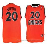 Camiseta New York Knicks Allan Houston #20 Retro Naranja