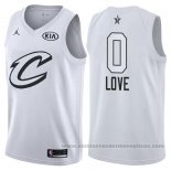 Camiseta All Star 2018 Cleveland Cavaliers Kevin Love #0 Blanco