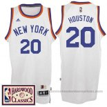 Camiseta New York Knicks Allan Houston #20 Retro Blanco