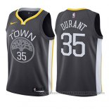 Camiseta Nino Golden State Warriors Kevin Durant #35 Statement 2017-18 Gris