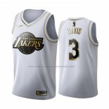 Camiseta Golden Edition Los Angeles Lakers Anthony Davis #3 Blanco