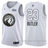 Camiseta All Star 2018 Minnesota Timberwolves Jimmy Butler #23 Blanco