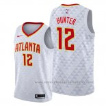 Camiseta Atlanta Hawks De'Andre Hunter #12 Association Blanco