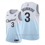 Camiseta Cleveland Cavaliers Andre Drummond #3 Earned 2019-20 Azul