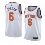 Camiseta New York Knicks Deandre Jordan #6 Statement 2018 Blanco