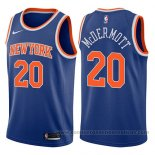 Camiseta New York Knicks Doug McDermott #20 Icon 2017-18 Azul