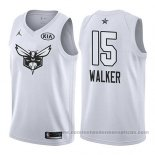 Camiseta All Star 2018 Charlotte Hornets Kemba Walker #15 Blanco