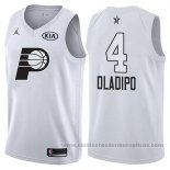 Camiseta All Star 2018 Indiana Pacers Victor Oladipo #4 Blanco