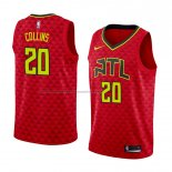 Camiseta Atlanta Hawks John Collins #20 Statement 2017-18 Rojo