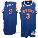 Camiseta New York Knicks John Starks #3 Retro Azul